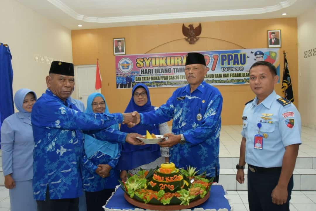 Syukuran HUT ke-21 PPAU Cabang 26 Tanjungpinang di Lanud Raja Haji Fisabilillah