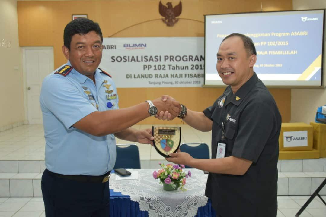 Sosialisasi PT. Asabri di Lanud RHF, untuk Peningkatan Kesejahteraan Prajurit