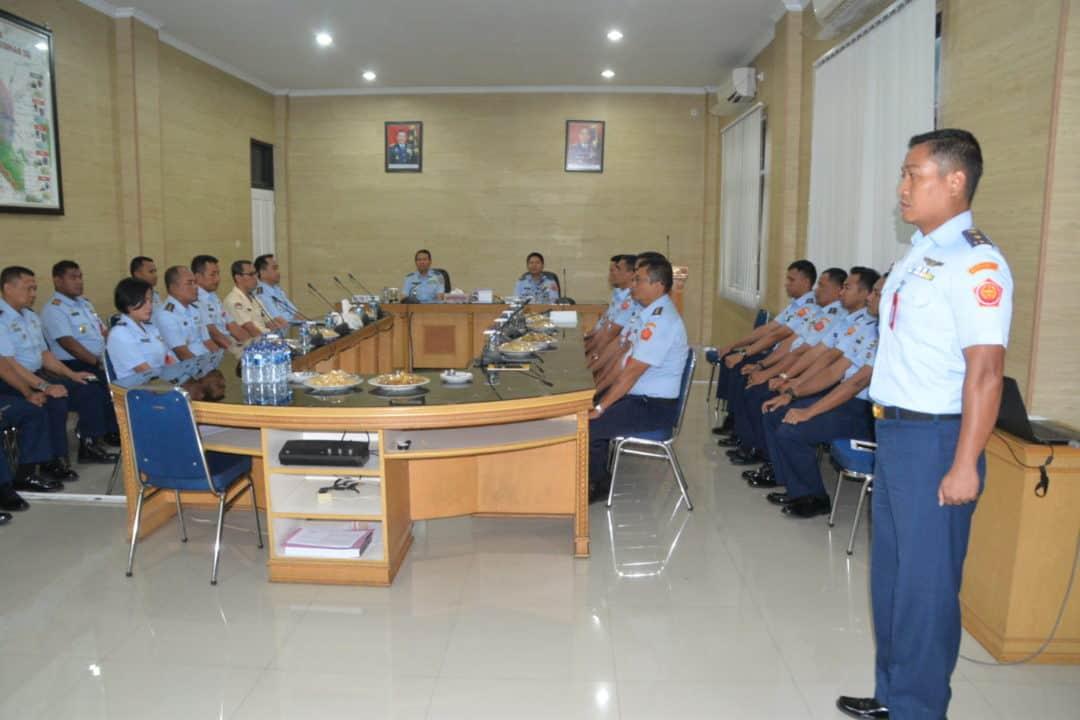 Pemutahiran Data Terhadap Rekomendasi Temuan Wasrik Itjen TNI AU di Kosekhanudnas III