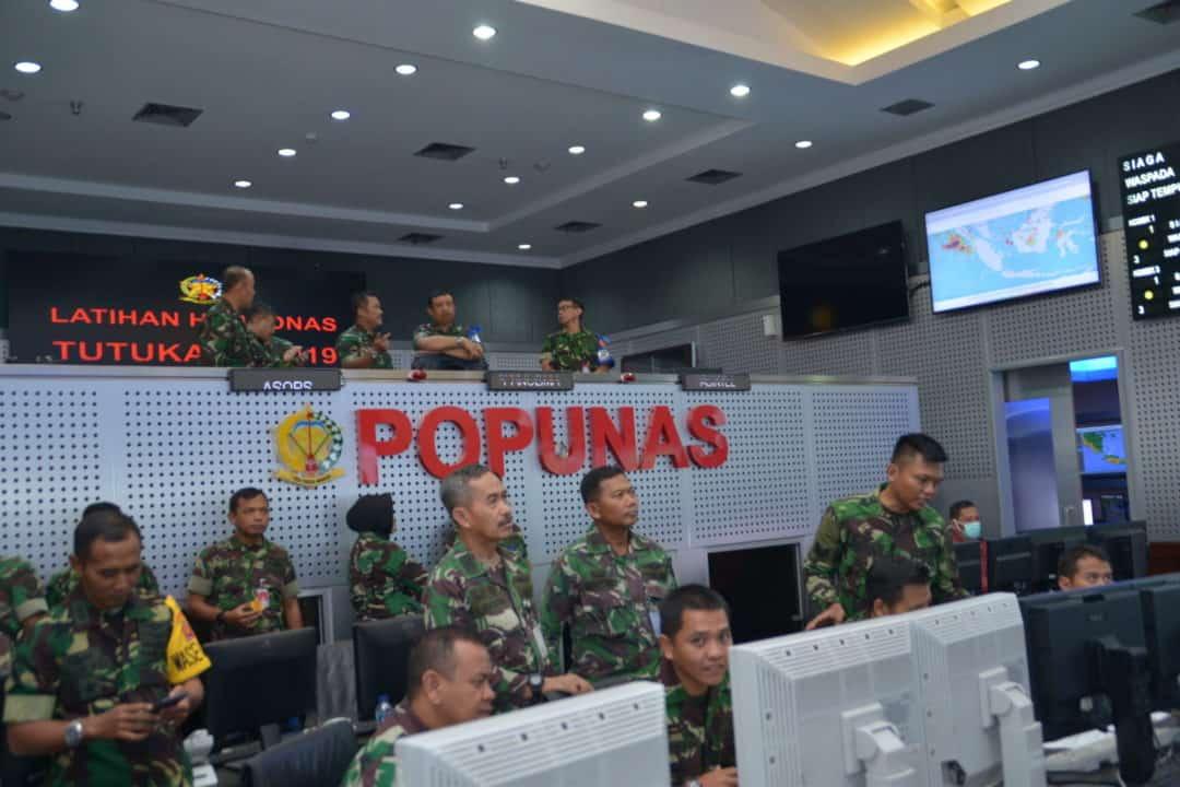 PANGLIMA KOHANUDNAS MENUTUP LATIHAN HANUDNAS TUTUKA 2019