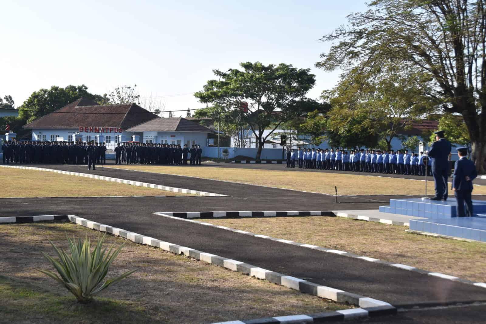 Upacara Peringatan HUT TNI ke-74 di Lanud Husein Sastranegara