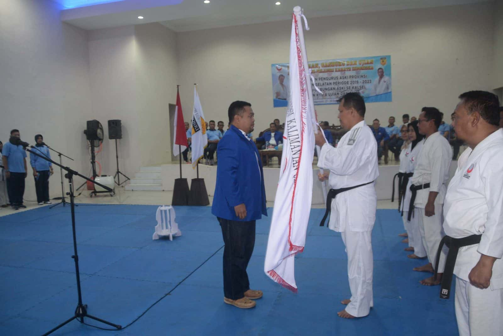 Komandan Lanud Sjamsudin Noor dilantik sebagai Ketua Umum ASKI Provinsi Kalimantan Selatan