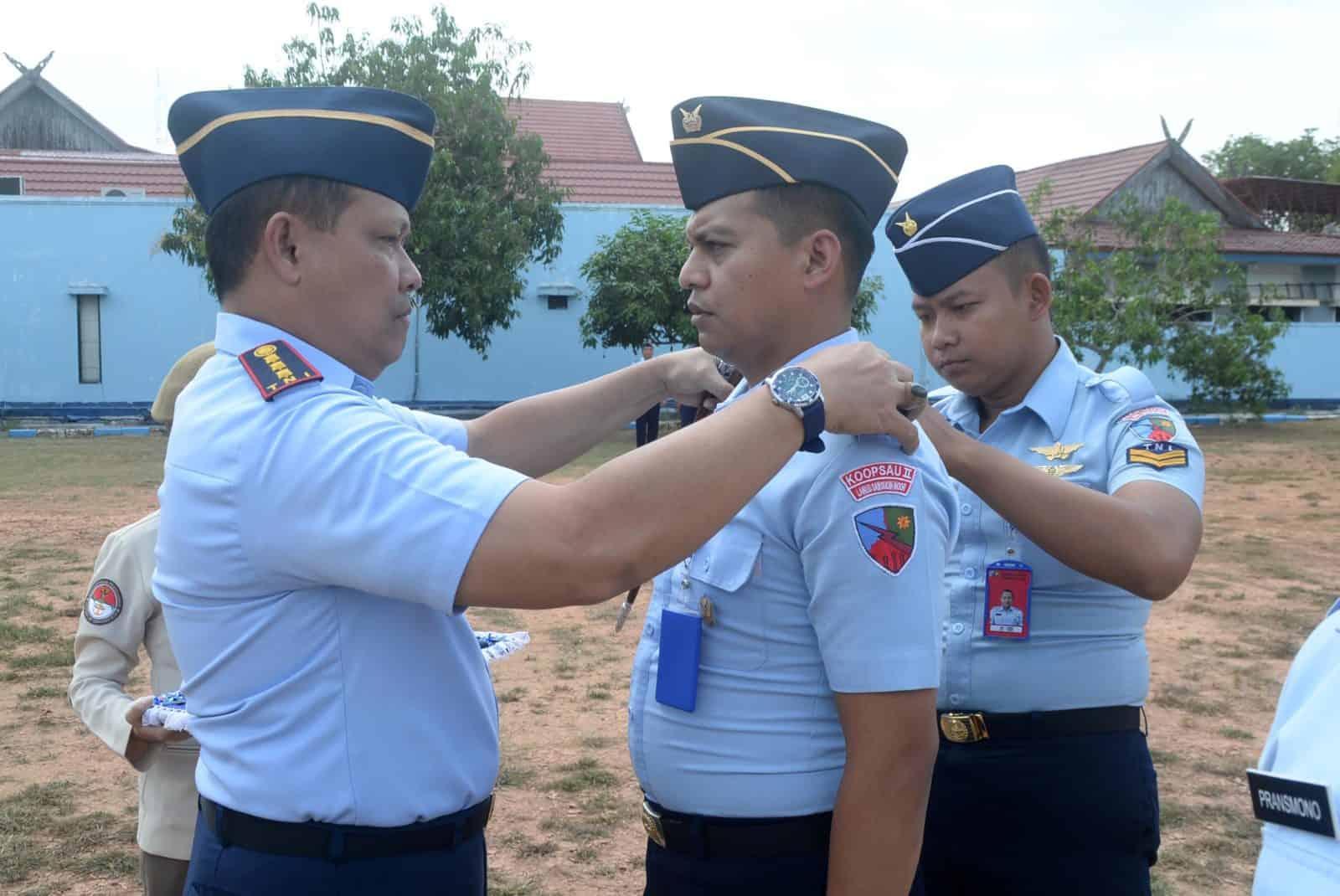 ''Pangkat Baru, Semangat Baru'' Laporan Korps Kenaikan Pangkat di Lanud Sjamsudin Noor