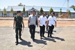 Hendak Ke Jayapura, Menhan Transit di Lanud Sultan Hasanuddin