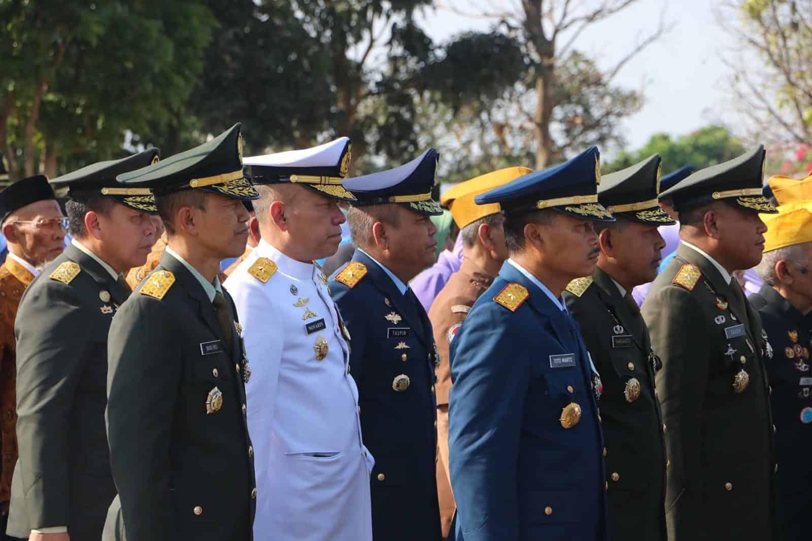 Wadan Korpaskhas Hadiri Ziarah HUT Ke-74 TNI