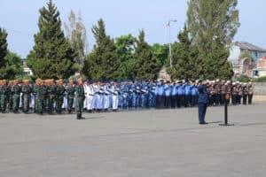 Ziarah Dalam rangka HUT TNI ke-74 TNI