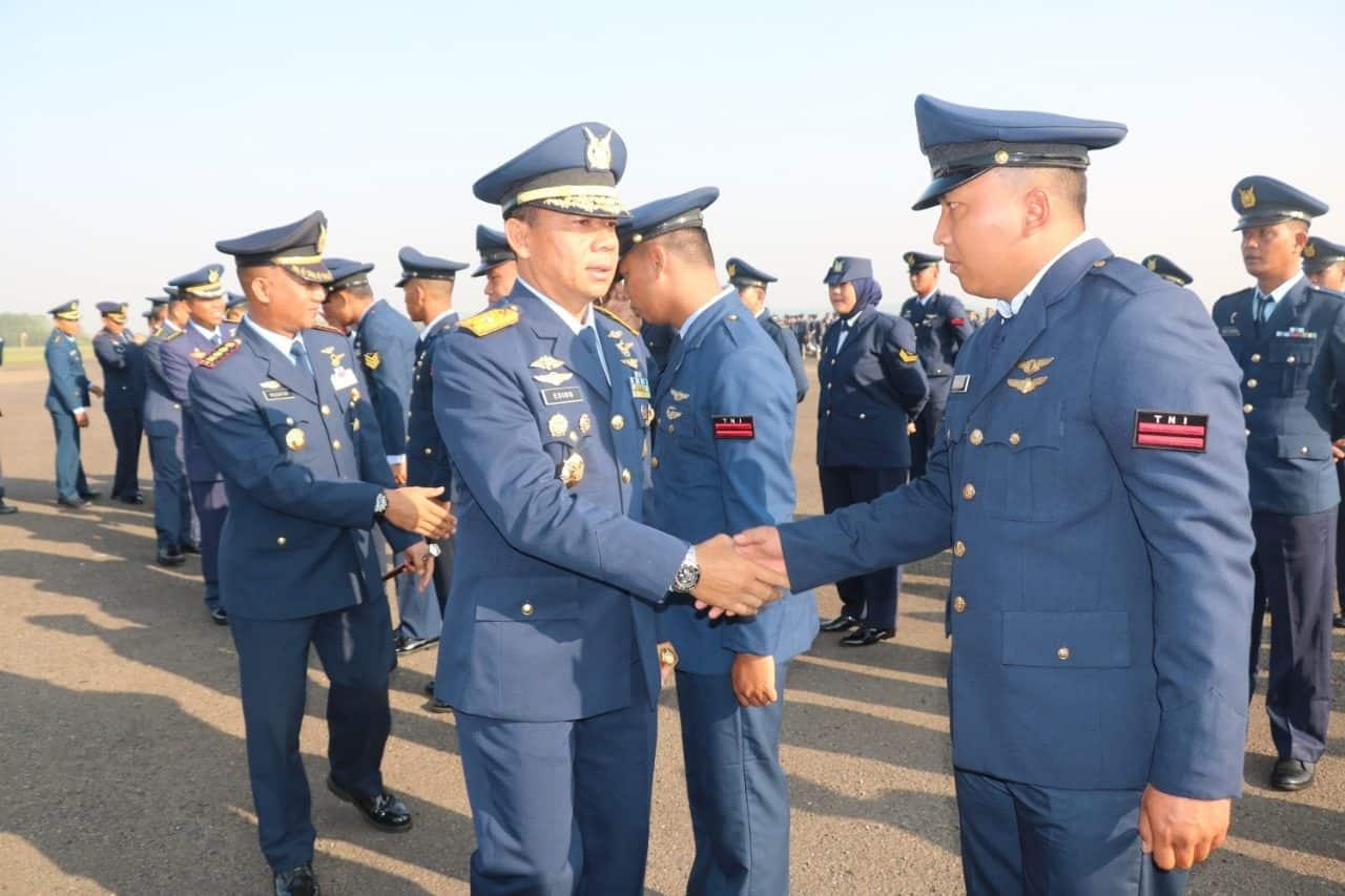 43 Personel Lanud Atang Sendjaja Naik Pangkat di Hari Kesaktian Pancasila