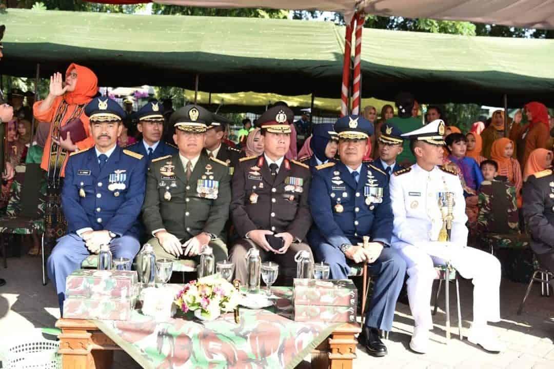 Danlanud Adisutjipto Hadiri Upacara HUT ke-74 TNI Jateng DIY di Ambarawa
