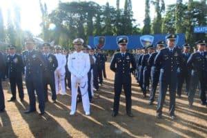Lanud Adisutjipto Gelar Upacara Gabungan Peringatan HUT ke-74 TNI