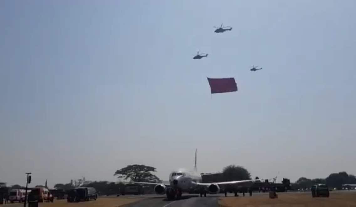 Hal Yang Tidak Biasanya Dilakukan Helikopter Dari Lanud Atang Sendjaja