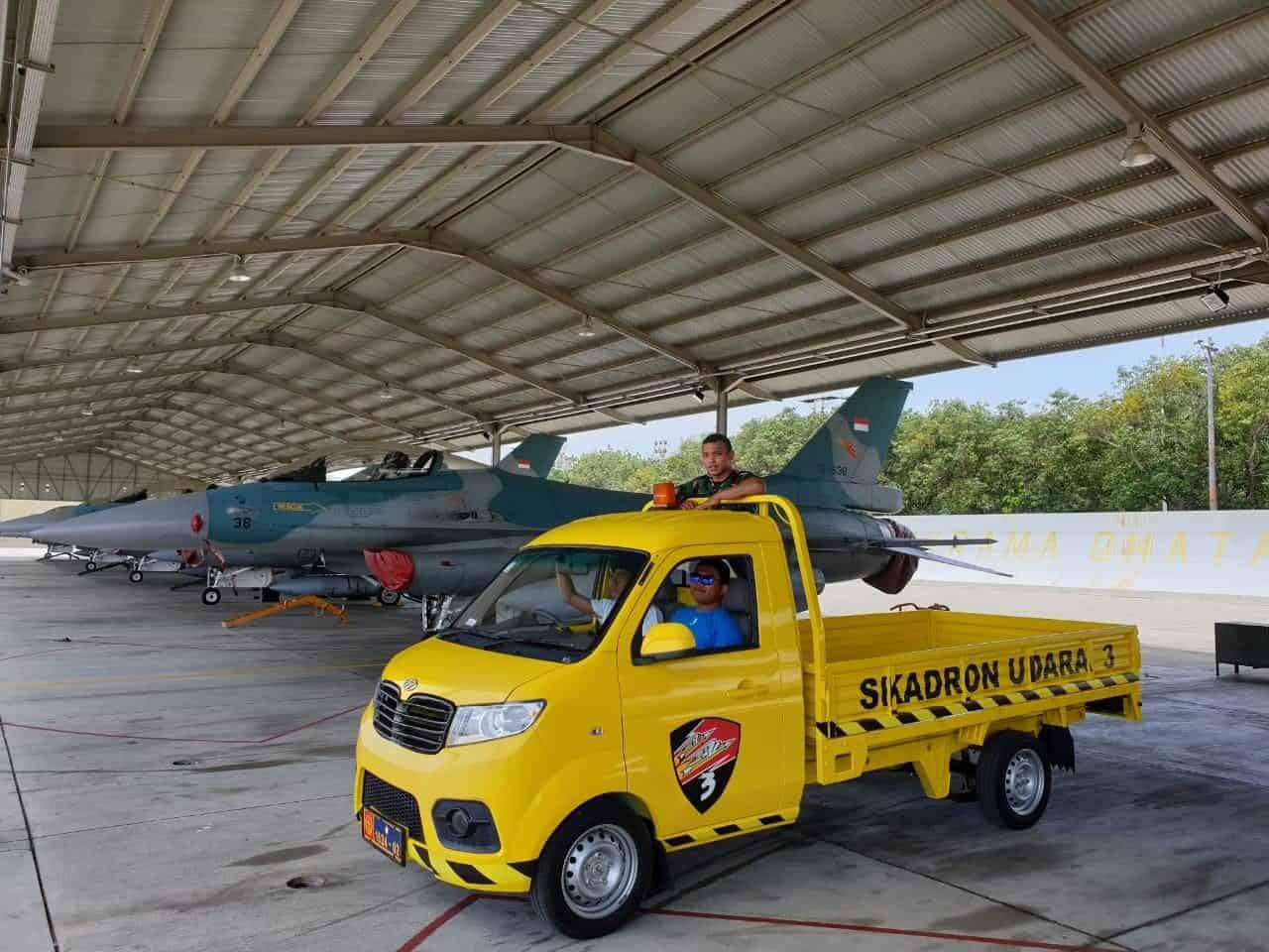 Mobil Esemka Bima siap dioperasionalkan di Lanud Iswahjudi