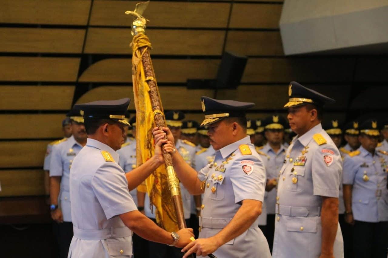 MARSMA TNI M. KHAIRIL LUBIS RESMI JABAT PANGKOOPSAU I
