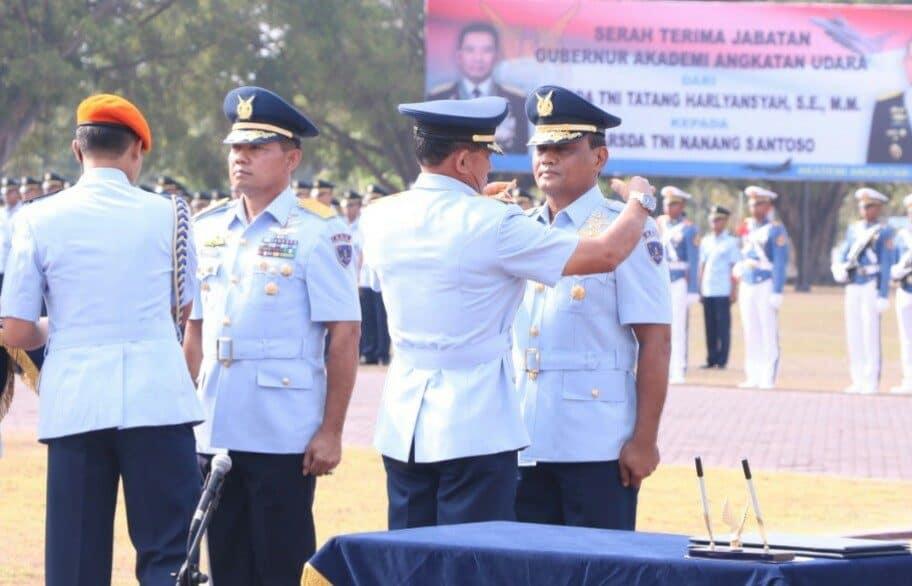 Marsda TNI Nanang Santoso Resmi Jabat Gubernur AAU