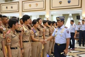 Entry Briefing Awali Tugas Gubernur AAU