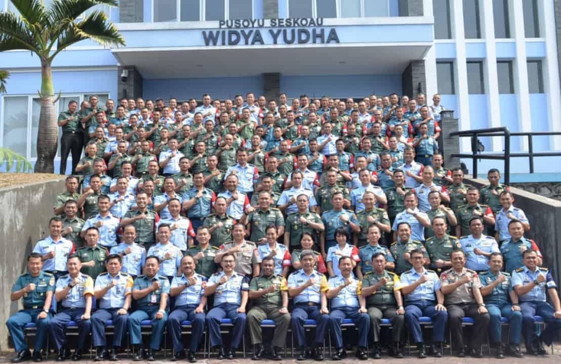 PKB Opsgab Sesko TNI dan Sesko Angkatan di seskoau hari ini di tutup