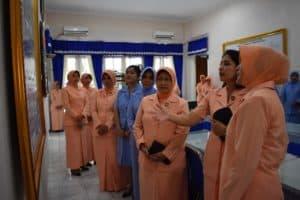 Ibu Irene Tatang Harlyansyah Laksanakan Kunjungan Kerja ke PIA Ardhya Garini Cabang Lanud Adisutjipto