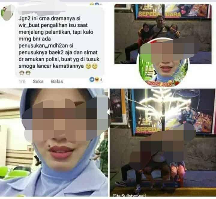 Istri Unggah Fitnah di Medsos , Anggota Pomau Lanud Muljono Surabaya Dicopot