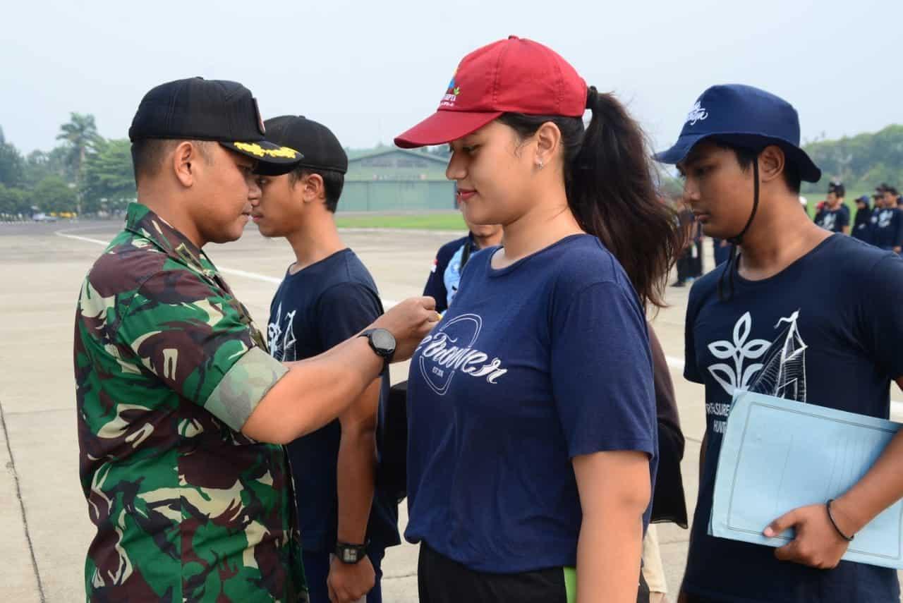 Kabinpotdirga Lanud Atang Sendjaja Tutup Pelatihan Soft Skill Mahasiswa IPB 2019