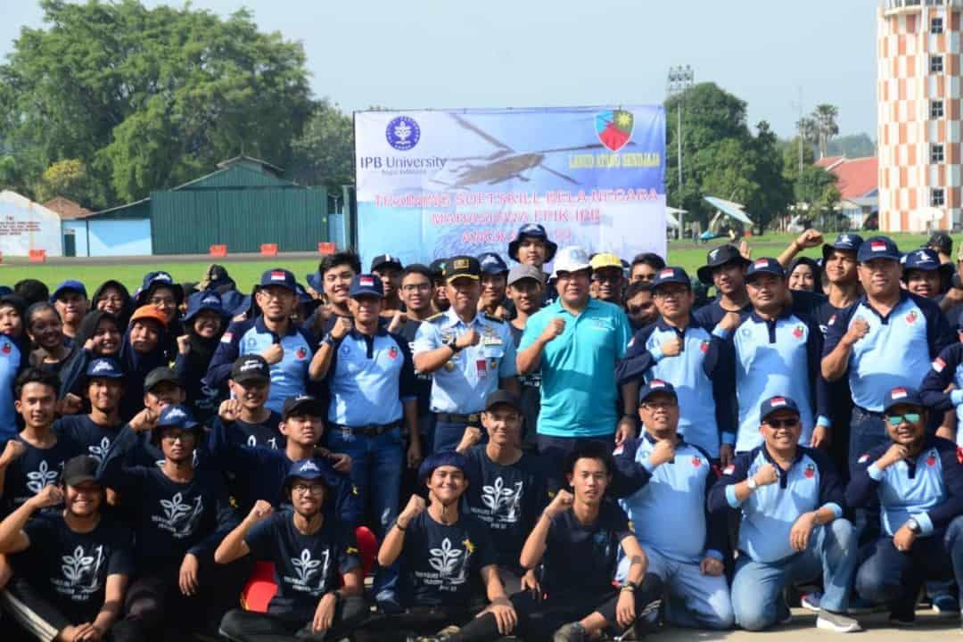 Mahasiswa IPB Ikuti Pelatihan Soft Skill di Lanud Atang Sendjaja