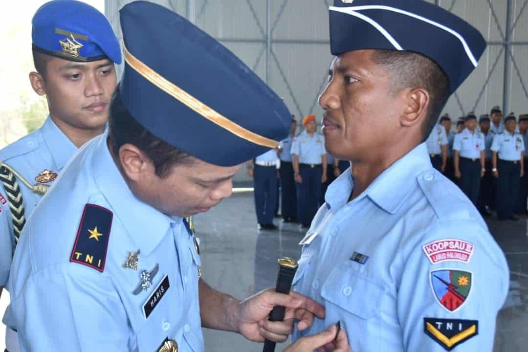 Pembukaan Dikkualsus Ground Handling A-II di Skadron Teknik 044