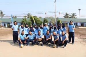 Pertandingan Bola Voli dalam rangka HUT ke-63 PIA Ardhya Garini di Lanud Bny