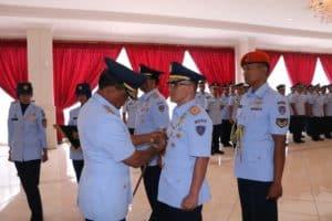 Marsda TNI Nanang Santoso Pimpin Sertijab Wagub AAU