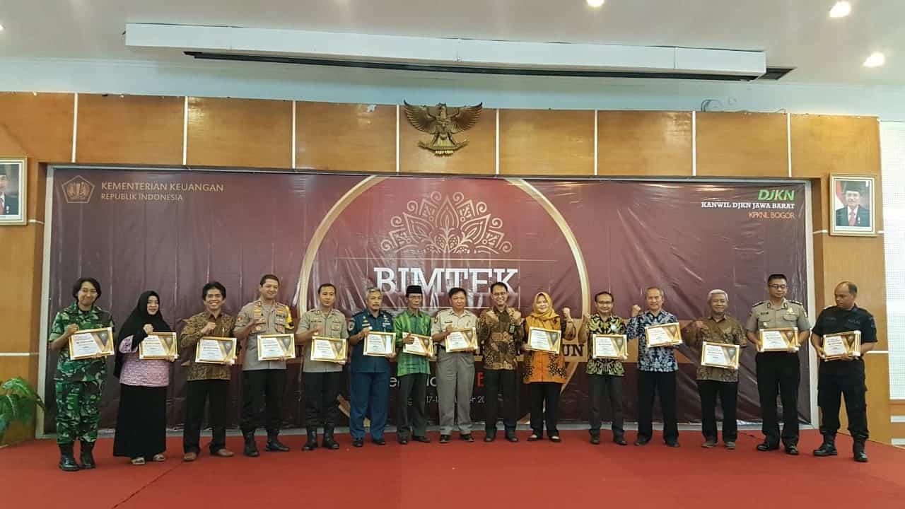 Lanud Atang Sendjaja Raih BMN Award 2019