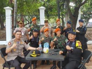 Satgas Pam Unras Yonko 462 Paskhas Amankan Pelantikan Presiden Dan Wakil Presiden