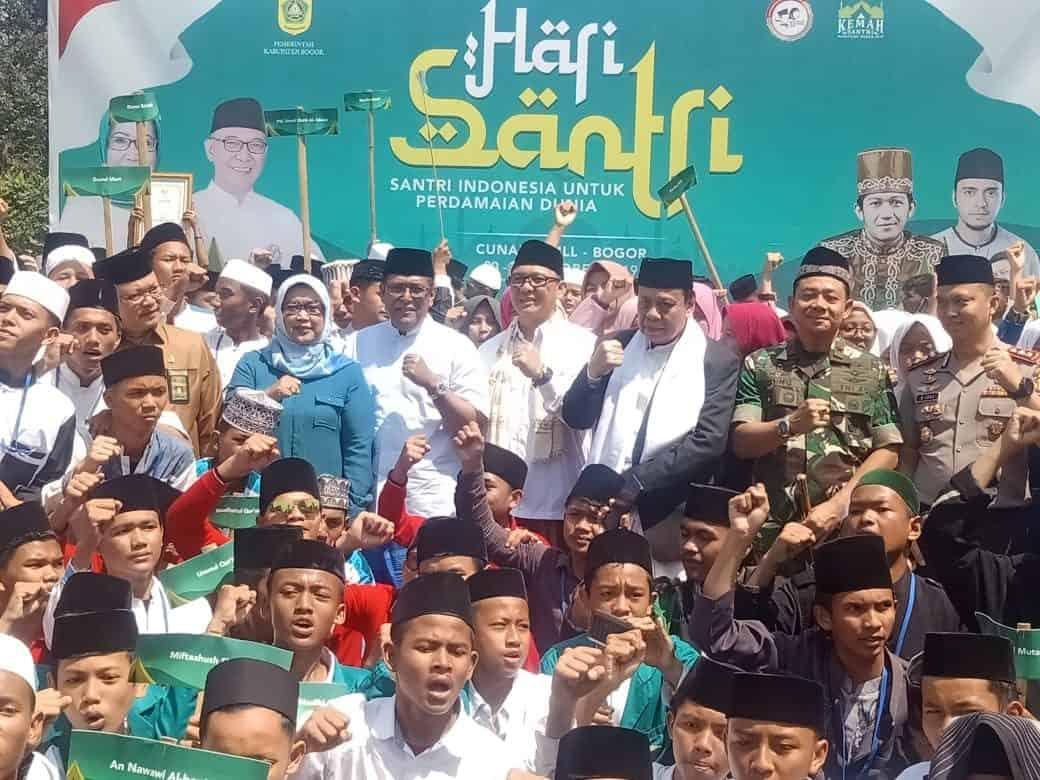 Danlanud Ats Hadiri Acara Hari Santri Nasional 2019 Kabupaten Bogor
