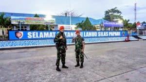 Satgas Pamrahwan Papua Yonko 462 Paskhas Tiba Di Jayapura