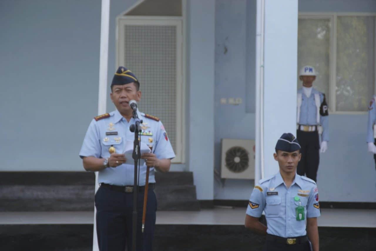 Lanud Sam Ratulangi Laksanakan Upacara Sumpah Pemuda Tahun 2019