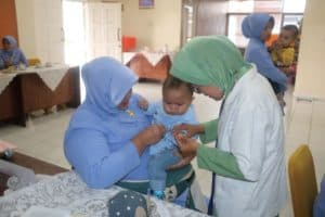 PIA Ardhya Garini Bakorcab Bogor Ikuti Lomba Bayi Sehat