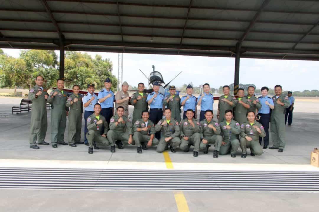 Lanud Adisutjipto Terima Kunjungan Delegasi TNI AU- ROKAF dalam agenda Airman to Airman Talks