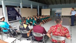 Kadispers Lanud Ats Lepas 23 Casis Tamtama TNI AU gelombang II TA 2019 Panda Lanud Atang Sendjaja ke Solo
