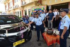 Danlanud Adisutjipto Launching 30 Armada Taxi Rajawali