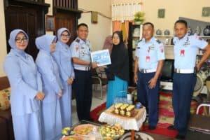 Satpom Lanud Dhomber Kunjungi Purnawirawan dan Panti Asuhan Al Muhajirin