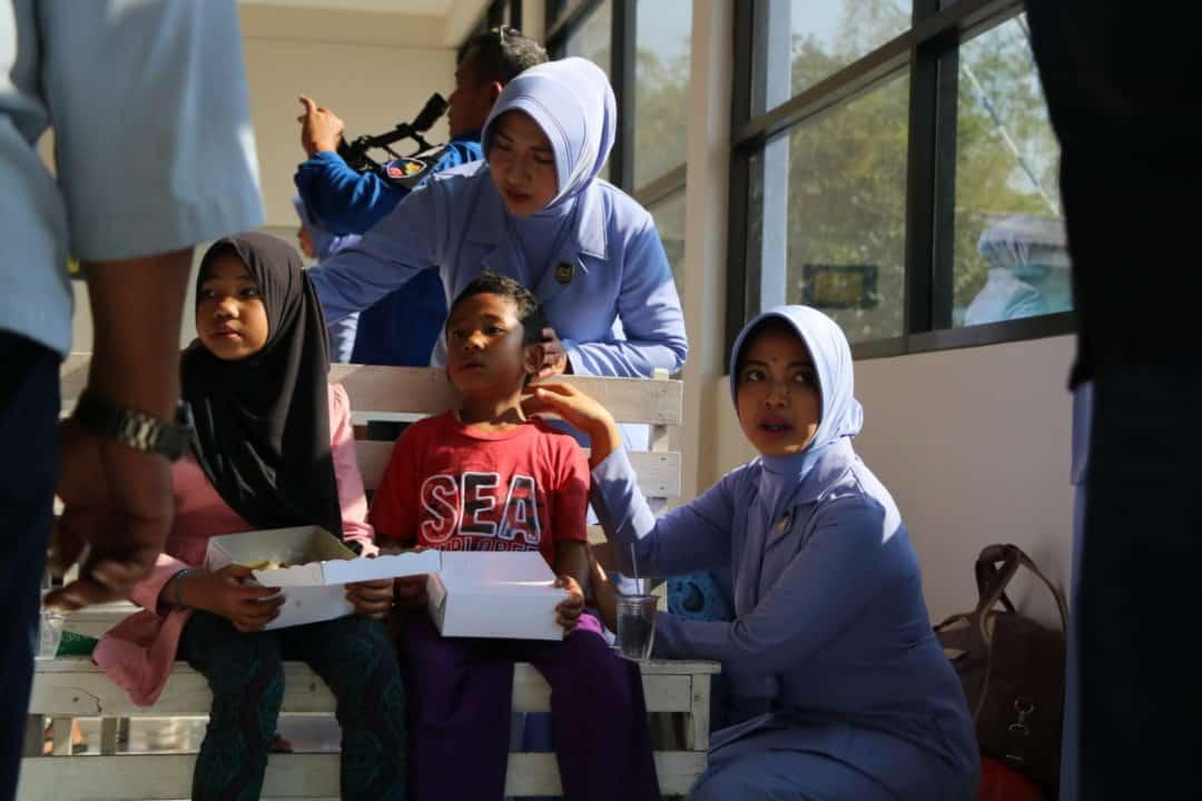 Bantuan Kemanusiaan, 59 Pengungsi Wamena Tujuan Jakarta tiba Lanud Iswahjudi