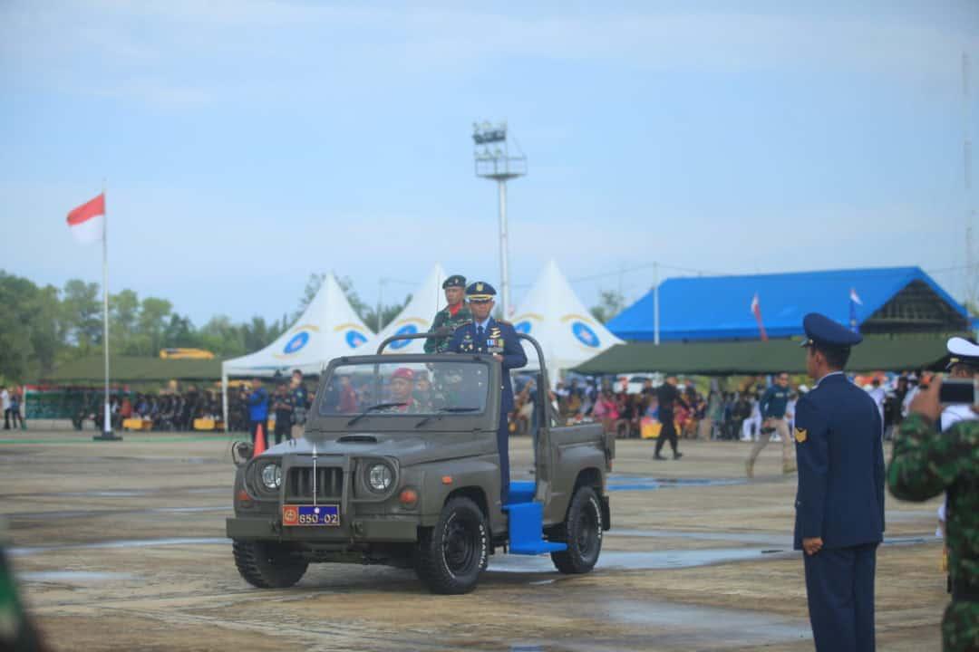PERINGATAN HUT KE-74 TNI DI LANUD ANANG BUSRA