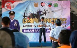 Open Tournament Archery Danlanud Cup 2019 Resmi Dibuka