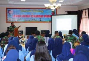 Sosialisai Undang-Undang ITE di Lanud Sultan Iskandar Muda