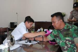 Bakti sosial Donor Darah dalam Rangka Menyambut HUT ke-73 Pomau