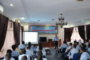 Penyuluhan dan Pemeriksaan HIV-AIDS di Lanud Sultan Iskandar Muda