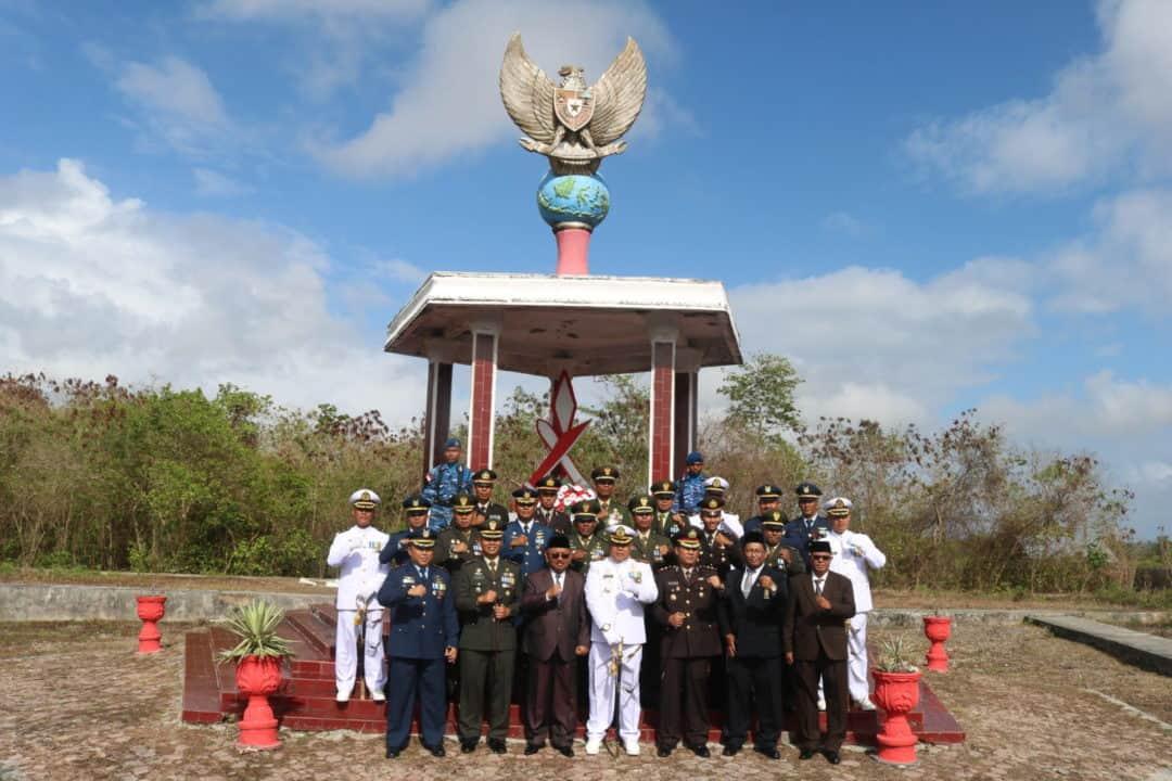 ZIARAH ROMBONGAN DALAM RANGKA HUT TNI KE 74 TAHUN 2019