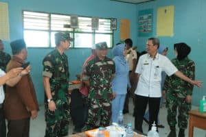 PIA Ardhya Garini Cabang 7/D II Lanud Sultan Hasanuddin Adakan Bakti Sosial