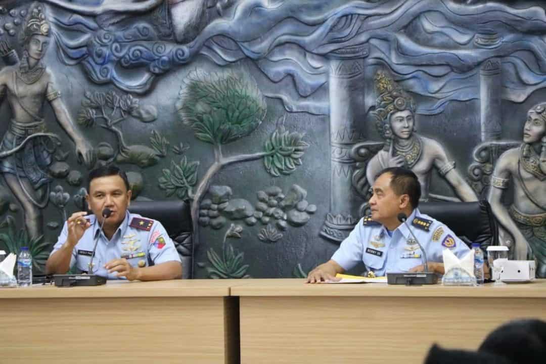 Air Crew Lanud Abd Saleh Terima Ceramah Kesehatan Penerbangan