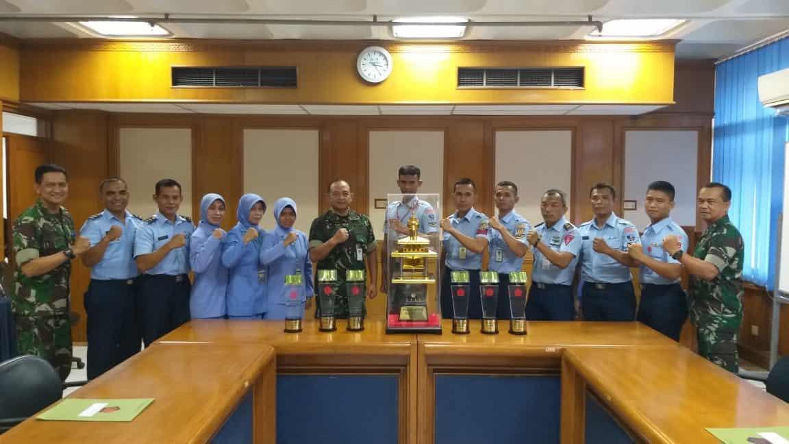 TNI Angkatan Udara Raih Juara Umum MHQ Tingkat TNI Tahun 2019