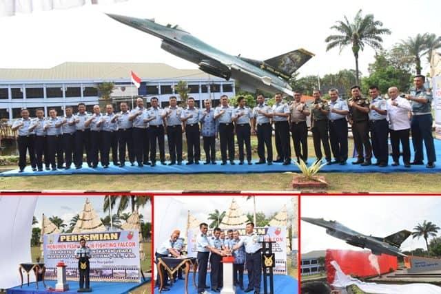 Kasau, Monumen Pesawat F-16 Berikan Warna Bagi Masyarakat