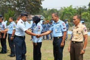 8 Personel Lanud Iskandar Naik Pangkat