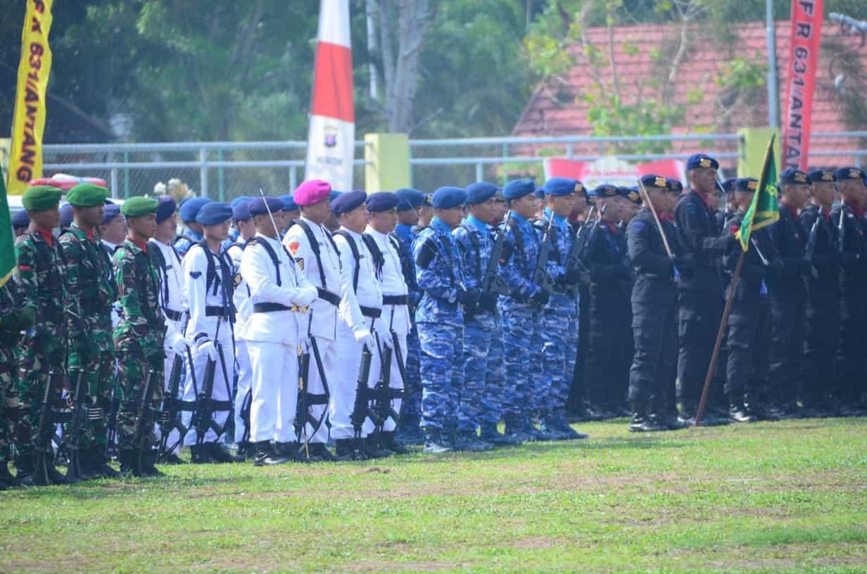 Perayaan HUT Ke74 TNI di Palangkaraya