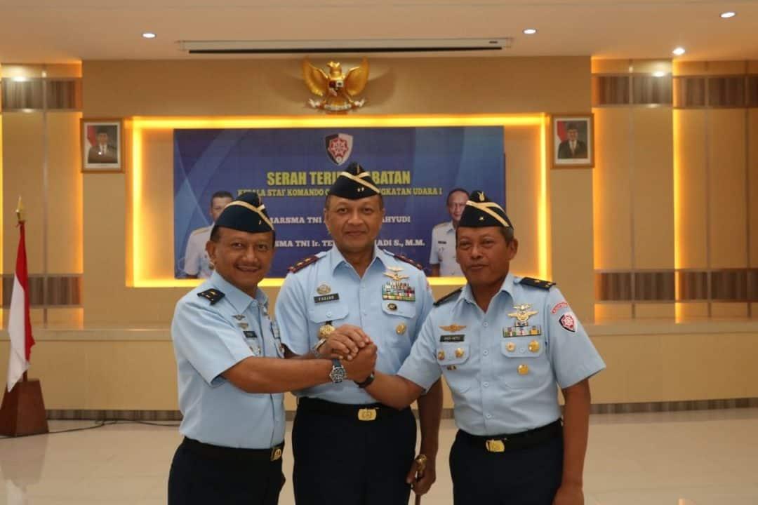 Marsma TNI Ir. Tedi Rizalihadi S., M.M. Jabat Kakoopsau I Yang Baru